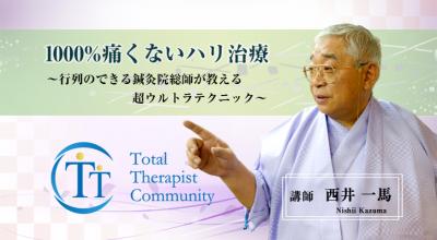 1000%痛くないハリ治療~行列のできる鍼灸院総帥が教える超ウルトラテク二ック~